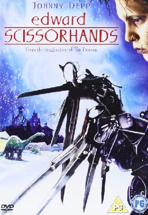 Edward Scissorhands Film Poster