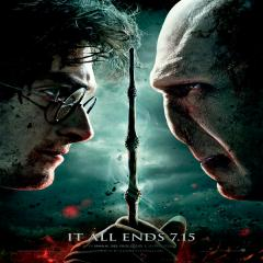 Harry Potter And The Deathly Hallows: Part 2 Film Poster
