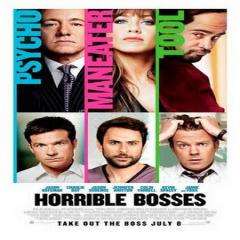 Horrible Bosses Film Poster
