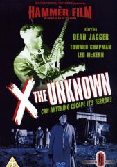 X The Unknown Film Poster