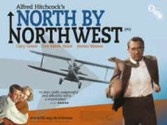 North By Northwest Film Poster