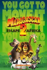 Madagascar: Escape 2 Africa Film Poster