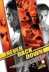Never Back Down Film Poster