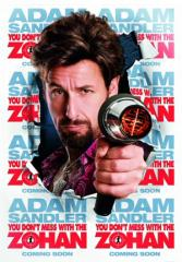 You Don't Mess With The Zohan Film Poster
