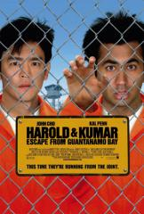 Harold And Kumar Escape From Guantanamo Bay Film Poster