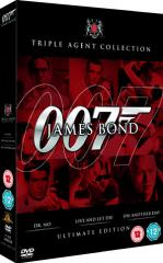 James Bond: Ultimate Red Triple Pack Film Poster