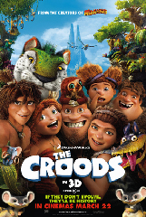 The Croods Film Poster