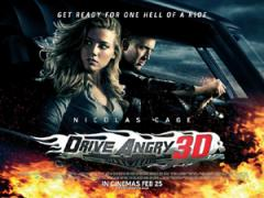 Drive Angry Film Poster