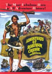 The Adventures Of Robinson Crusoe Film Poster